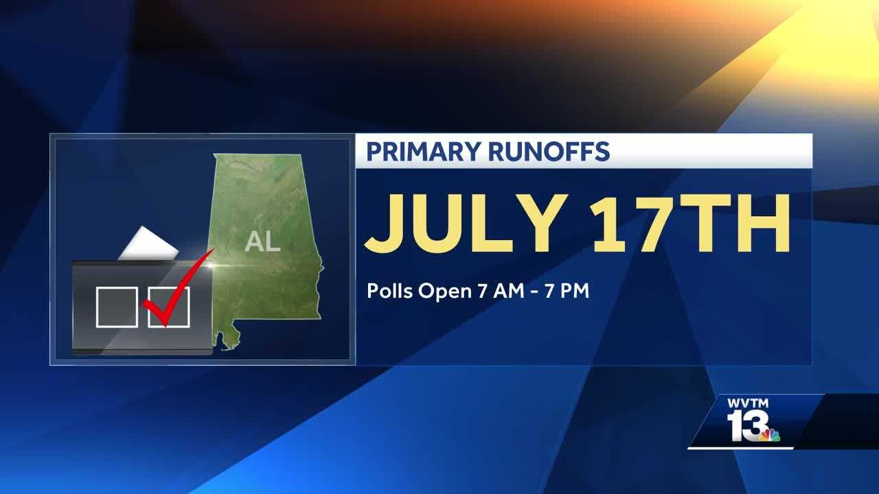 Alabama primary runoff elections
