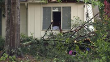 Storm damage April 5, 2017 Vestavia Hills, Ala.