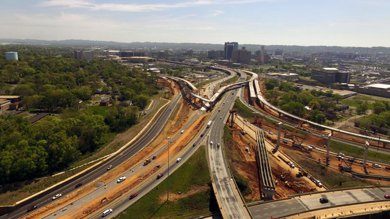 I-59/20 bridge project in Birmingham