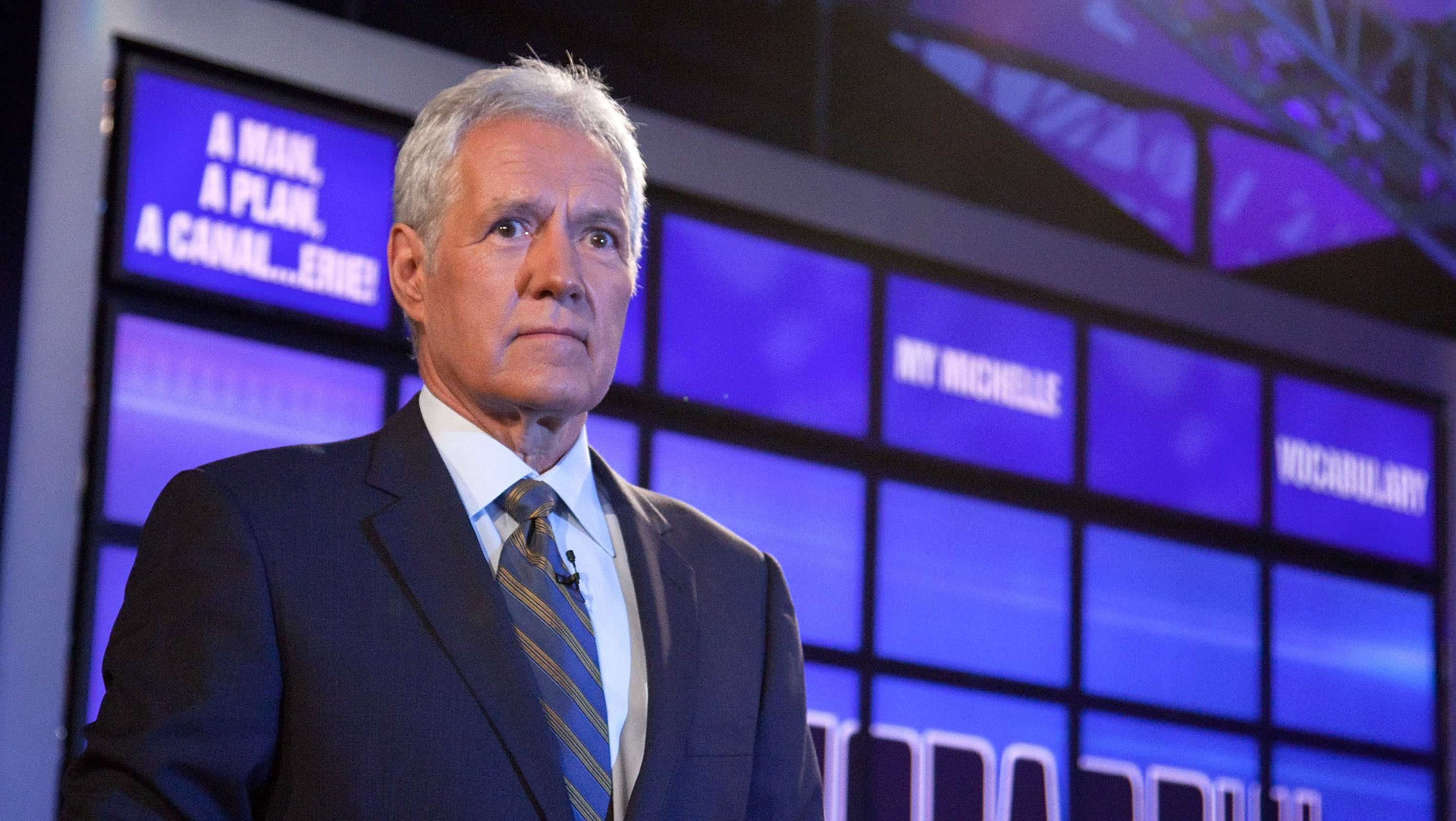 Host of 'Jeopardy!' Alex Trebek