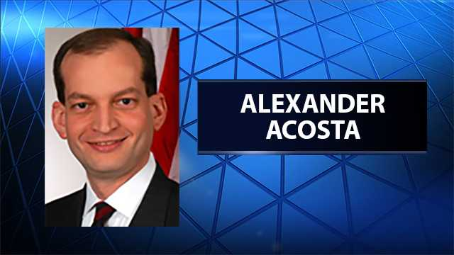 R. Alexander Acosta, Trump's choice for labor secretary