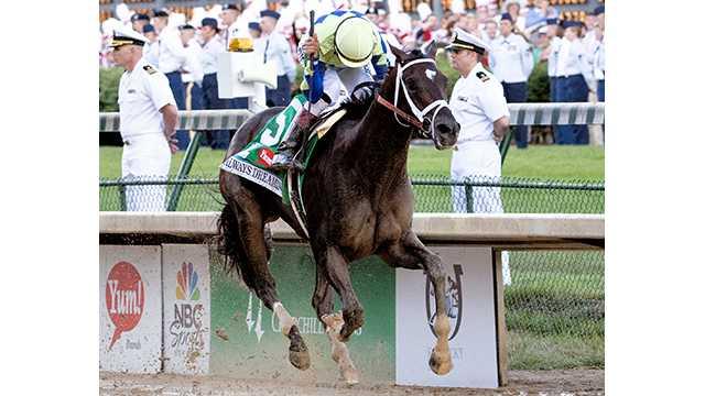Always Dreaming wins Kentucky Derby