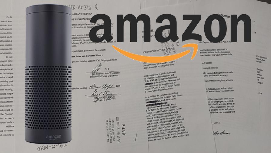 Amazon Echo and Court Documents