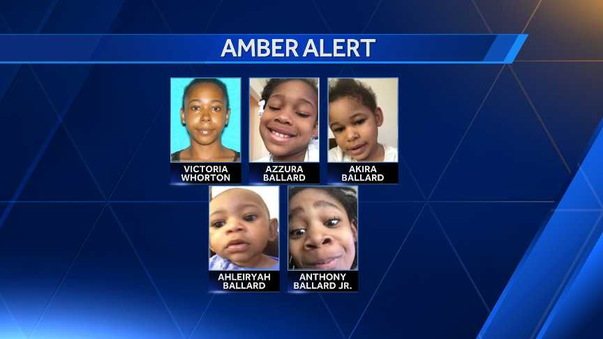 Amber Alert for 4 children missing in Indiana