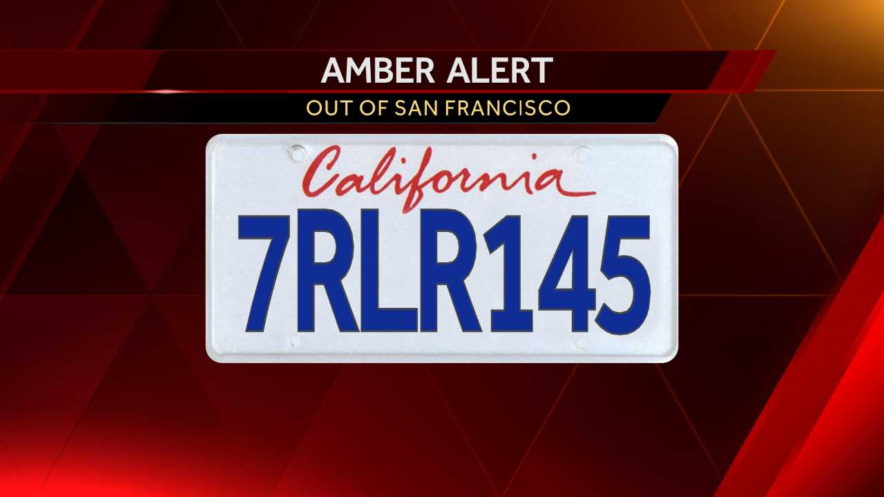 Amber Alert issued for 2-year-old girl in SF