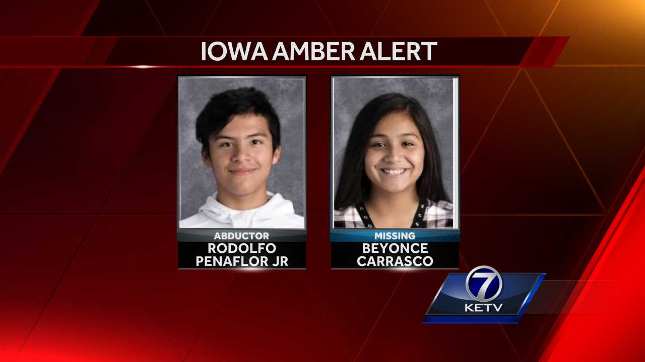 Amber Alert issued in west central Iowa