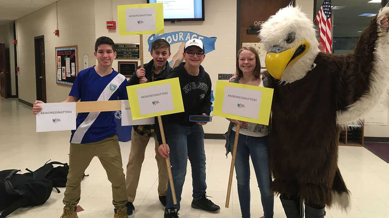 Amherst Middle School's kindness week