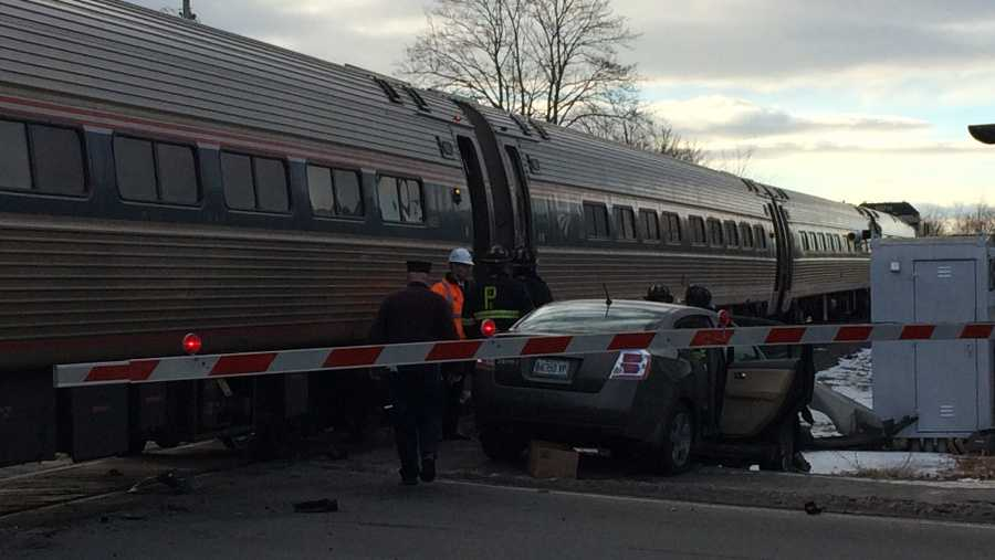 Amtrak crash in Maine