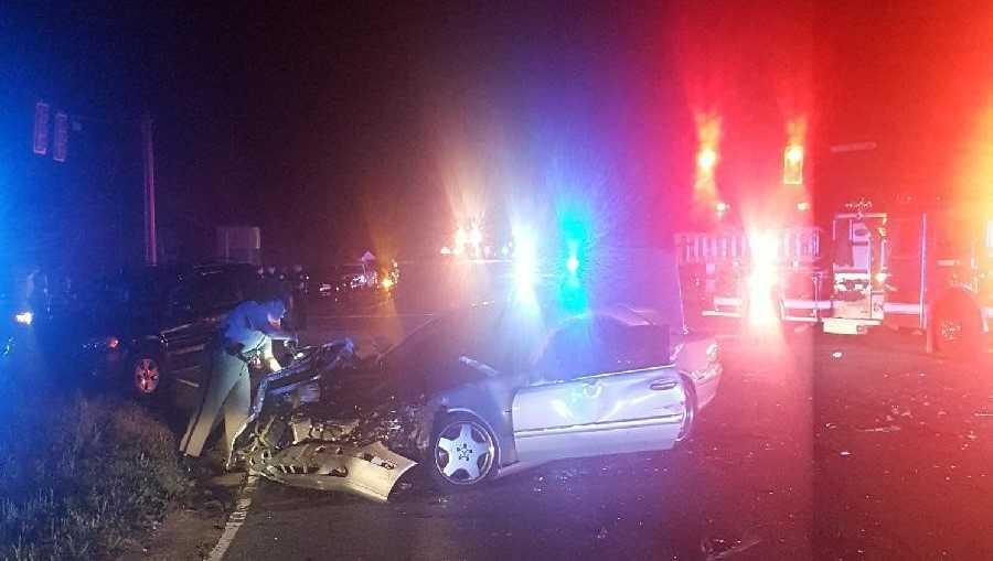 Dobbins Bridge Rd accident