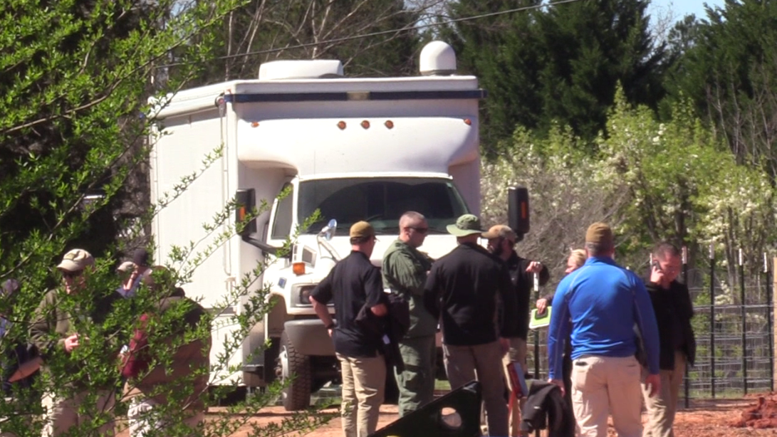Anderson County FBI search