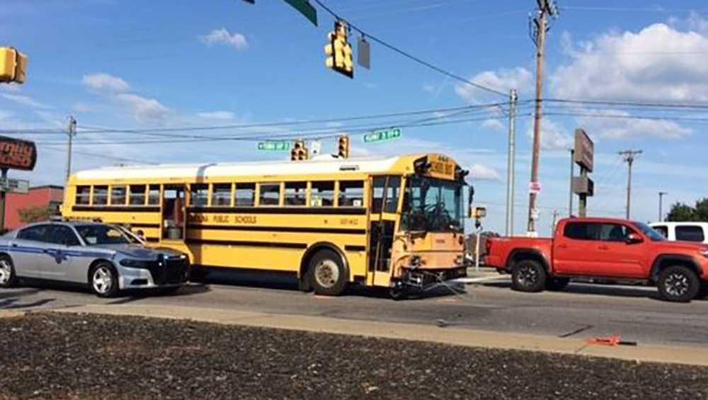 Anderson County school bus crash