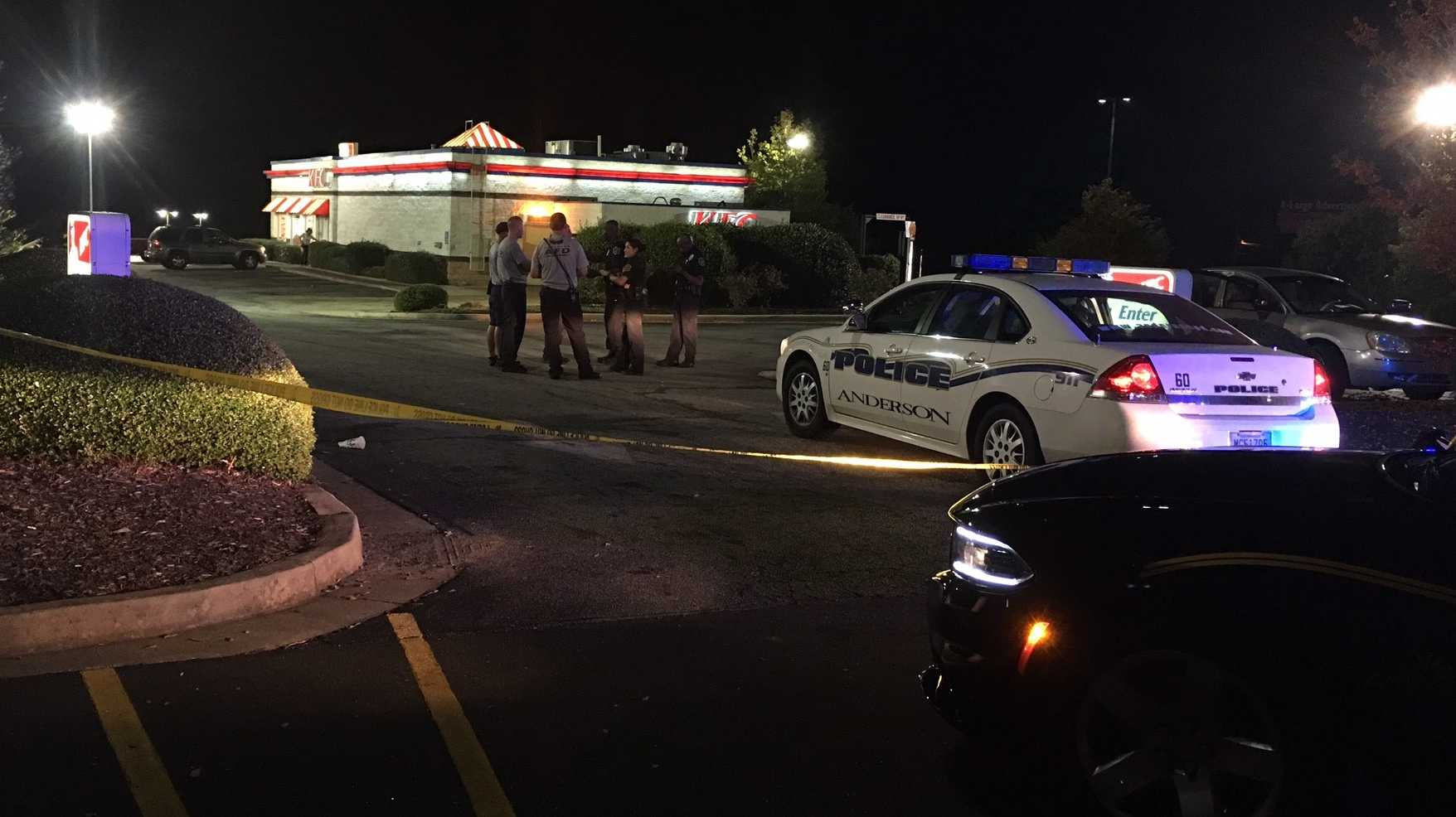 One injured in accidental shooting at Upstate KFC