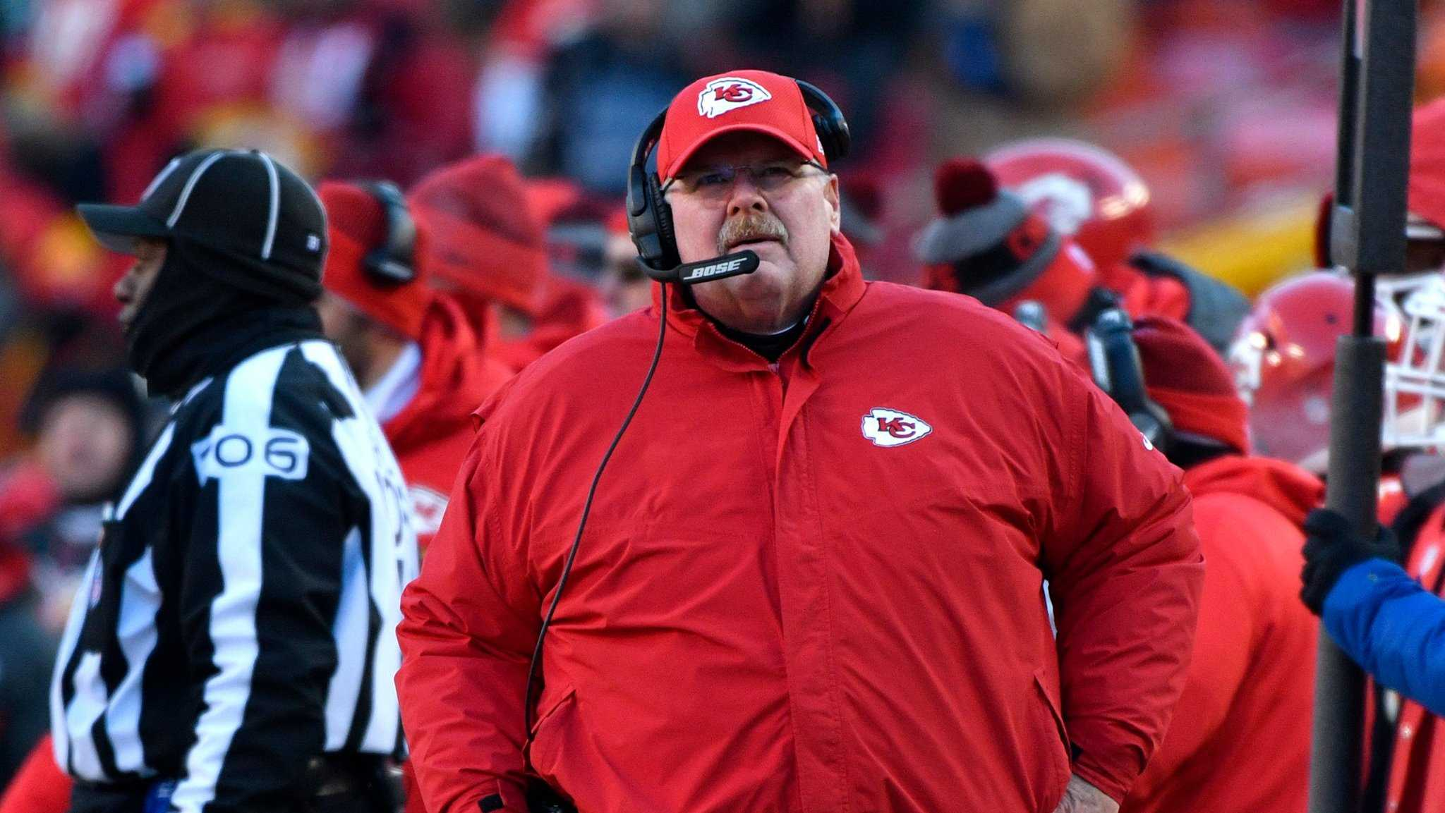 Andy Reid, Titans at Chiefs
