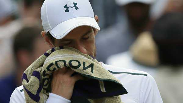 Hip injury forces Andy Murray to pull out of Cincinnati Masters
