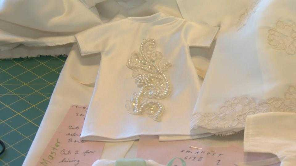 Kingsville woman sews angel gowns for stillborn babies