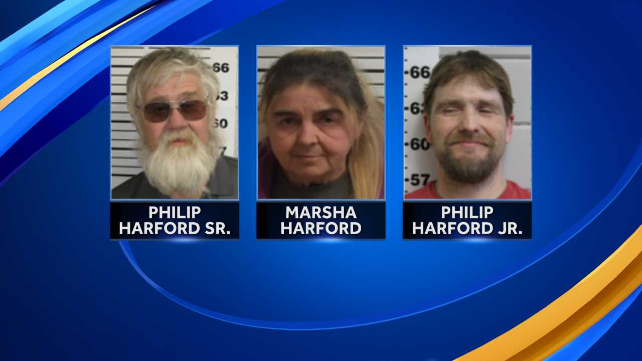 Three arrested on animal cruelty charges in Barnstead