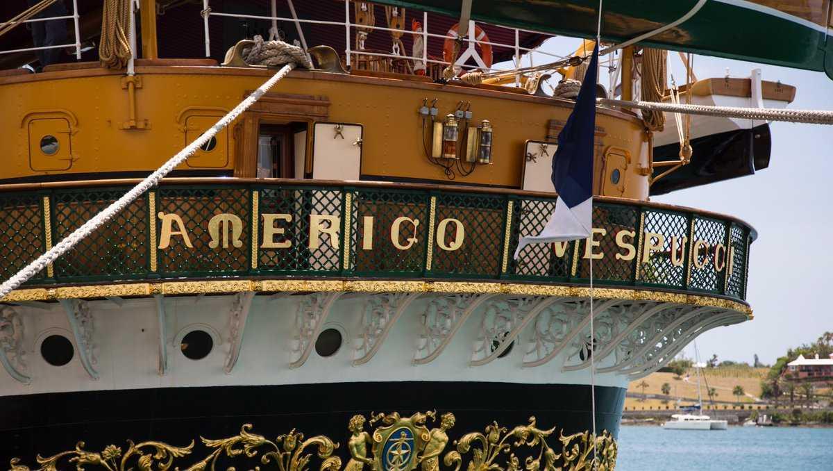 Sail Boston ships in Bermuda