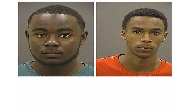 Antonio Whittington, 17, of the 200 block of South Ballou Court and Tay'Zion Taylor, 15, of the 1400 block of Montpelier Avenue were arrested and charged as adults with attempted first-degree murder in connection with a shooting on May 18.