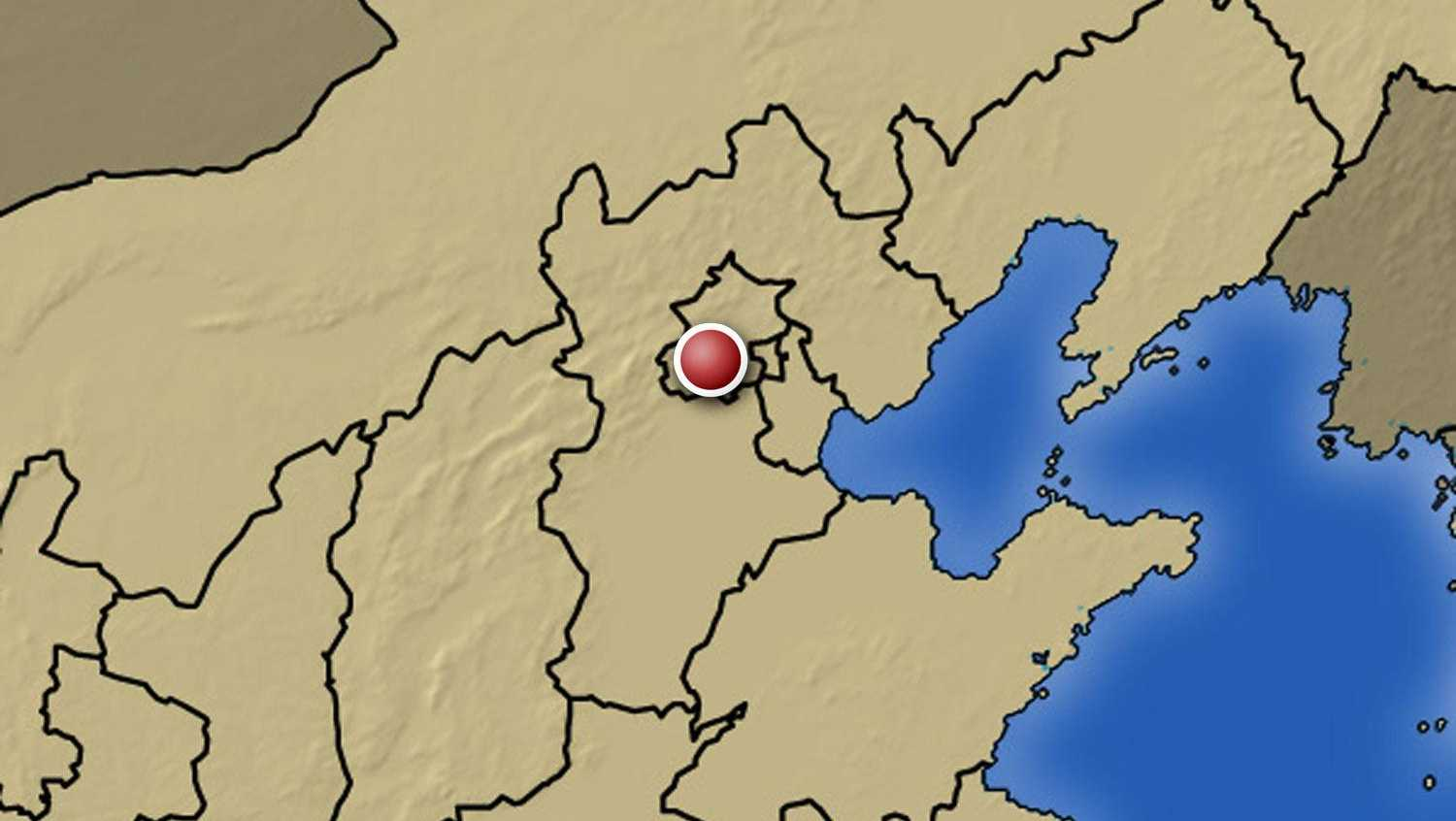 Map of Beijing.