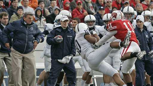 Levy tackle injures Paterno