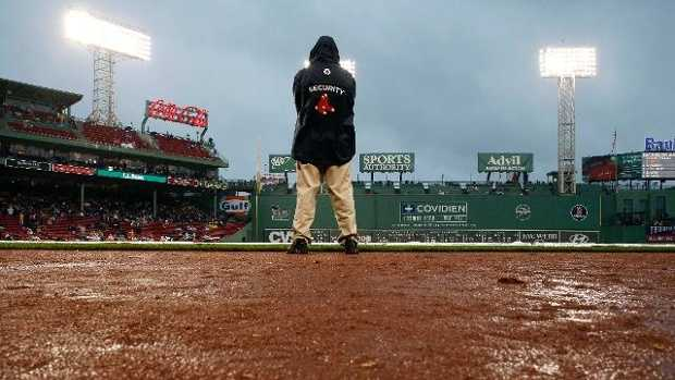 Red Sox postponed