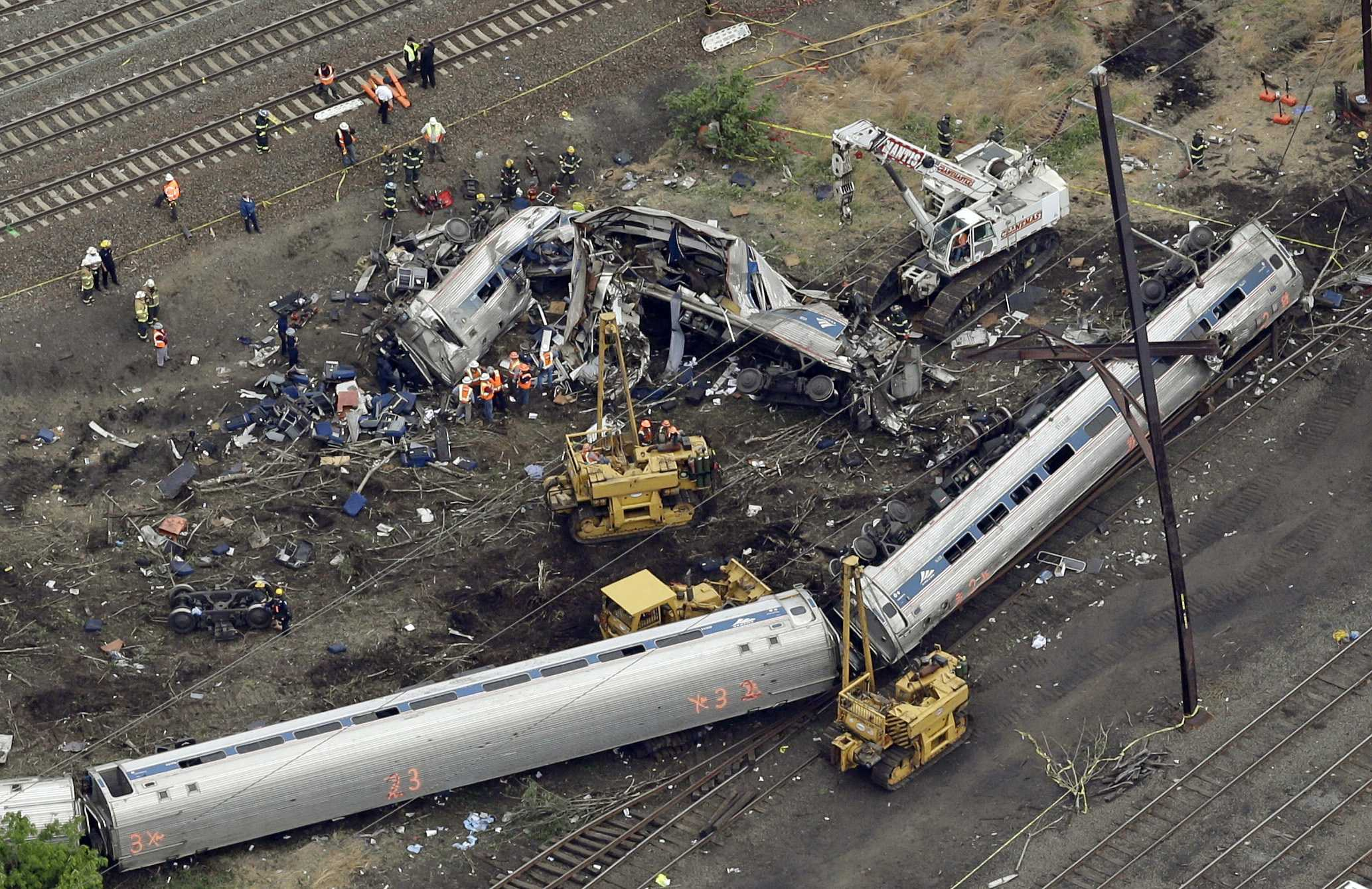 Engineer charged in deadly Amtrak crash