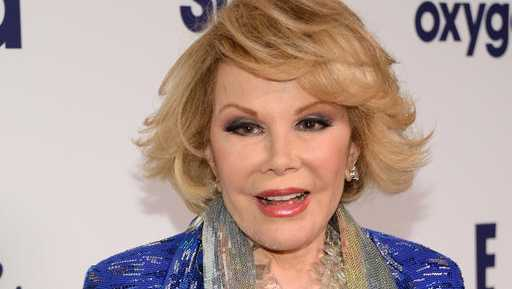Joan Rivers passed away in 2014.