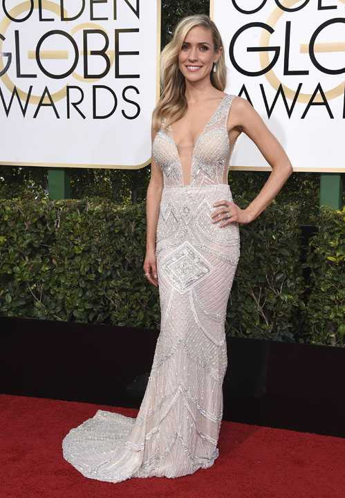 Kristin Cavallari arrives at the 74th annual Golden Globe Awards at the Beverly Hilton Hotel on Sunday, Jan. 8, 2017, in Beverly Hills, Calif. (Photo by Jordan Strauss/Invision/AP)