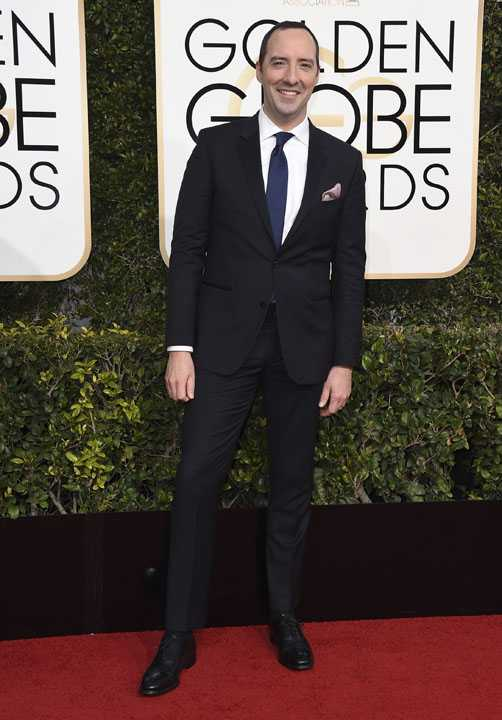 qTony Hale arrives at the 74th annual Golden Globe Awards at the Beverly Hilton Hotel on Sunday, Jan. 8, 2017, in Beverly Hills, Calif. (Photo by Jordan Strauss/Invision/AP)