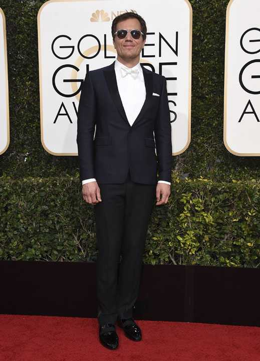 Michael Shannon arrives at the 74th annual Golden Globe Awards at the Beverly Hilton Hotel on Sunday, Jan. 8, 2017, in Beverly Hills, Calif. (Photo by Jordan Strauss/Invision/AP)