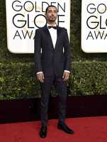 Riz Ahmed arrives at the 74th annual Golden Globe Awards at the Beverly Hilton Hotel on Sunday, Jan. 8, 2017, in Beverly Hills, Calif. (Photo by Jordan Strauss/Invision/AP)
