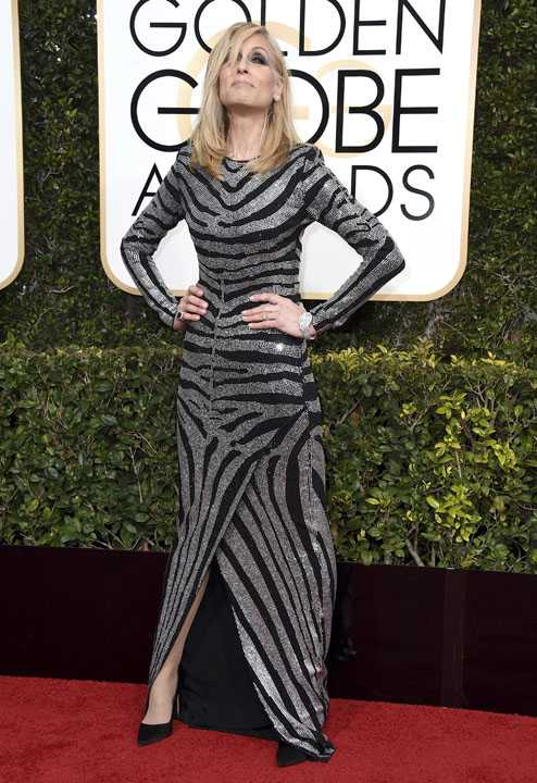 Judith Light arrives at the 74th annual Golden Globe Awards at the Beverly Hilton Hotel on Sunday, Jan. 8, 2017, in Beverly Hills, Calif. (Photo by Jordan Strauss/Invision/AP)