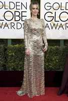 Sarah Paulson arrives at the 74th annual Golden Globe Awards at the Beverly Hilton Hotel on Sunday, Jan. 8, 2017, in Beverly Hills, Calif. (Photo by Jordan Strauss/Invision/AP)