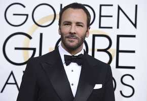 Tom Ford arrives at the 74th annual Golden Globe Awards at the Beverly Hilton Hotel on Sunday, Jan. 8, 2017, in Beverly Hills, Calif. (Photo by Jordan Strauss/Invision/AP)