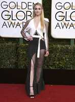 Sophie Turner arrives at the 74th annual Golden Globe Awards at the Beverly Hilton Hotel on Sunday, Jan. 8, 2017, in Beverly Hills, Calif. (Photo by Jordan Strauss/Invision/AP)