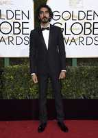 Dev Patel arrives at the 74th annual Golden Globe Awards at the Beverly Hilton Hotel on Sunday, Jan. 8, 2017, in Beverly Hills, Calif. (Photo by Jordan Strauss/Invision/AP)