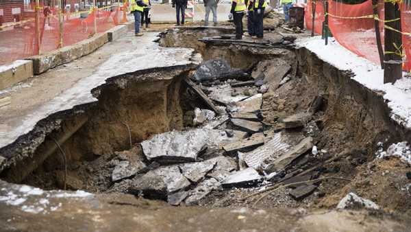 Philly sinkhole