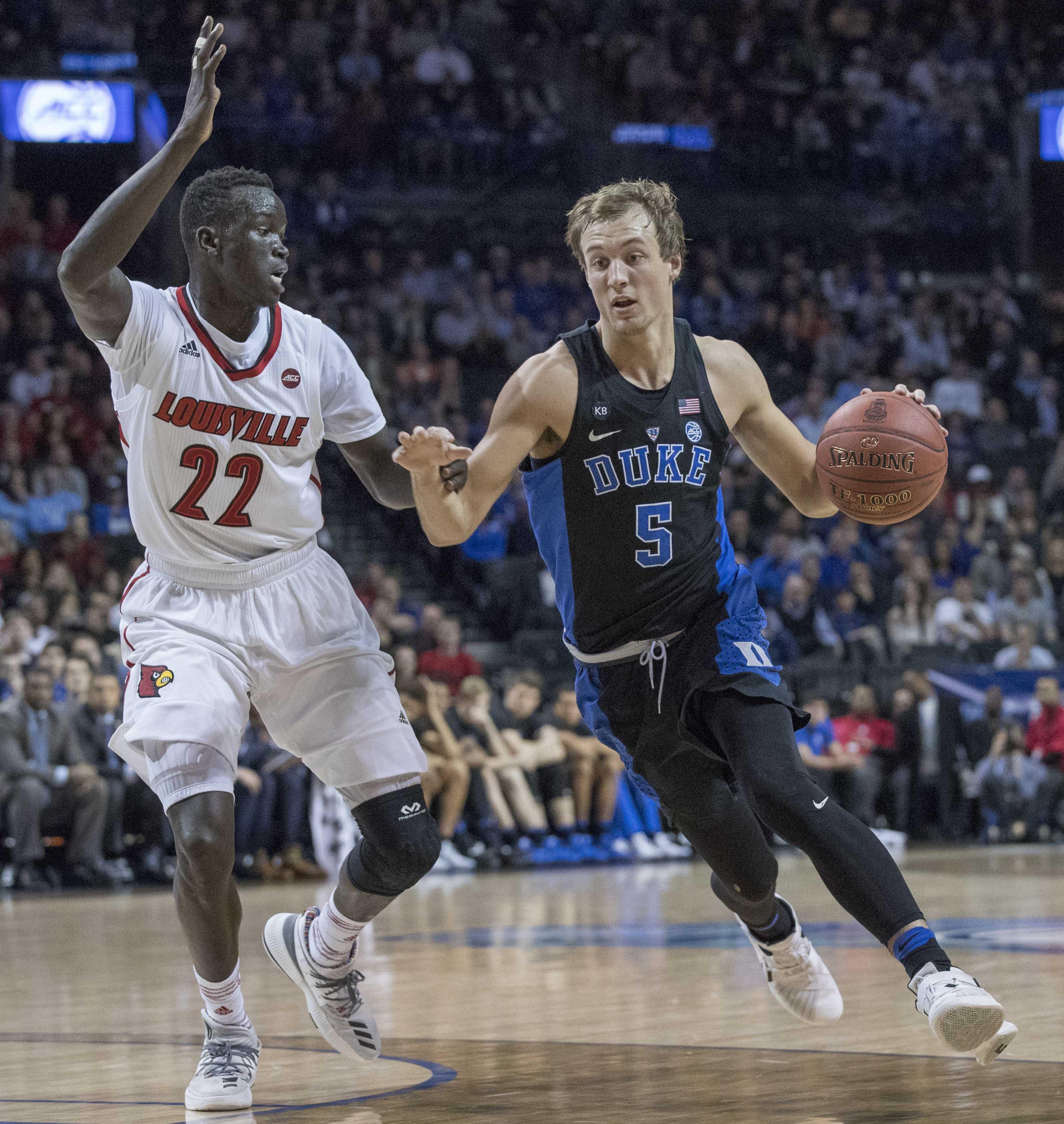 Luke Kennard will enter the National Basketball Association draft, ending his Duke career