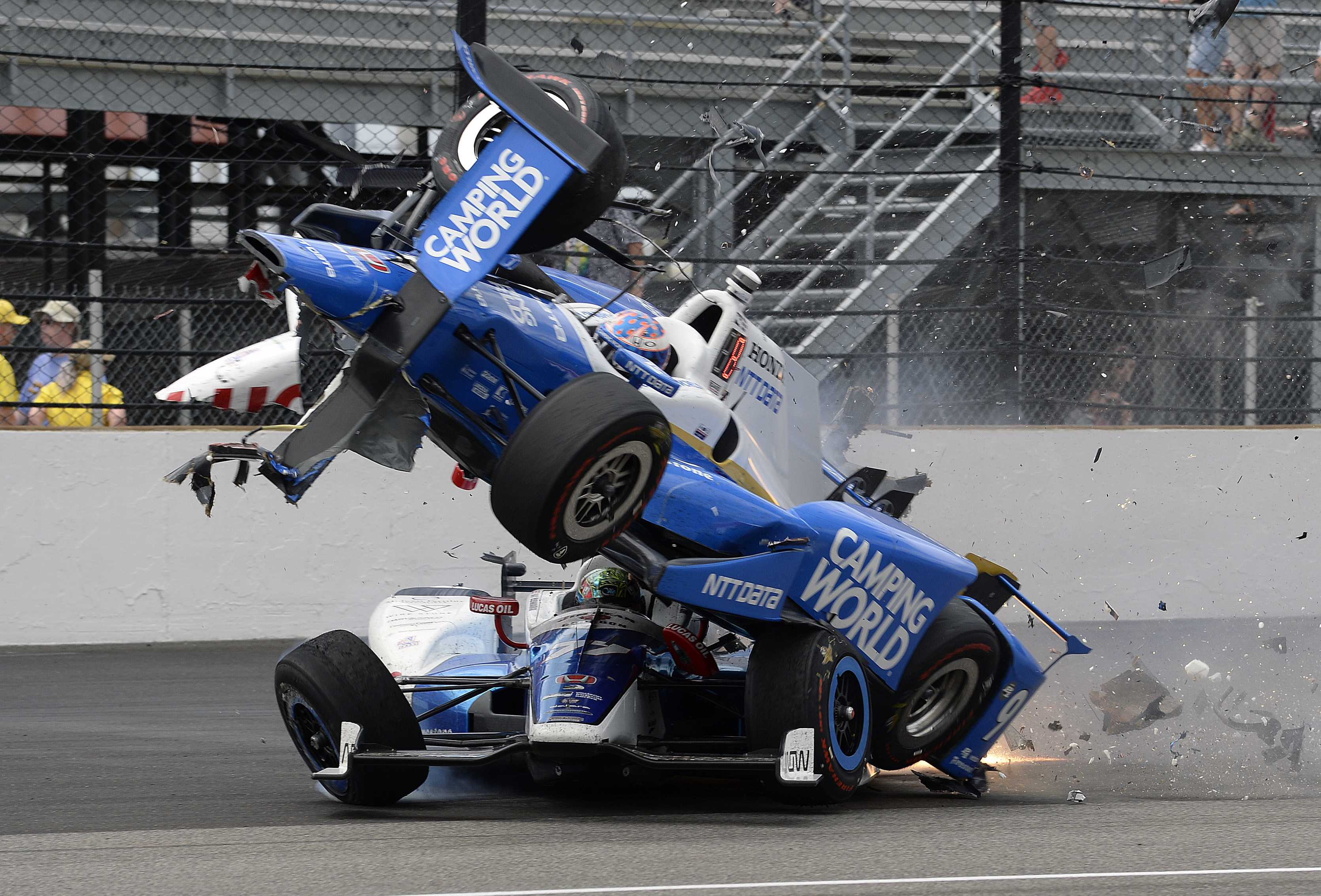 Scott Dixon Walked Away From A Horrifying Crash At The Indy 500