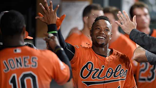 Tim Beckham hits home run with the Baltimore Orioles