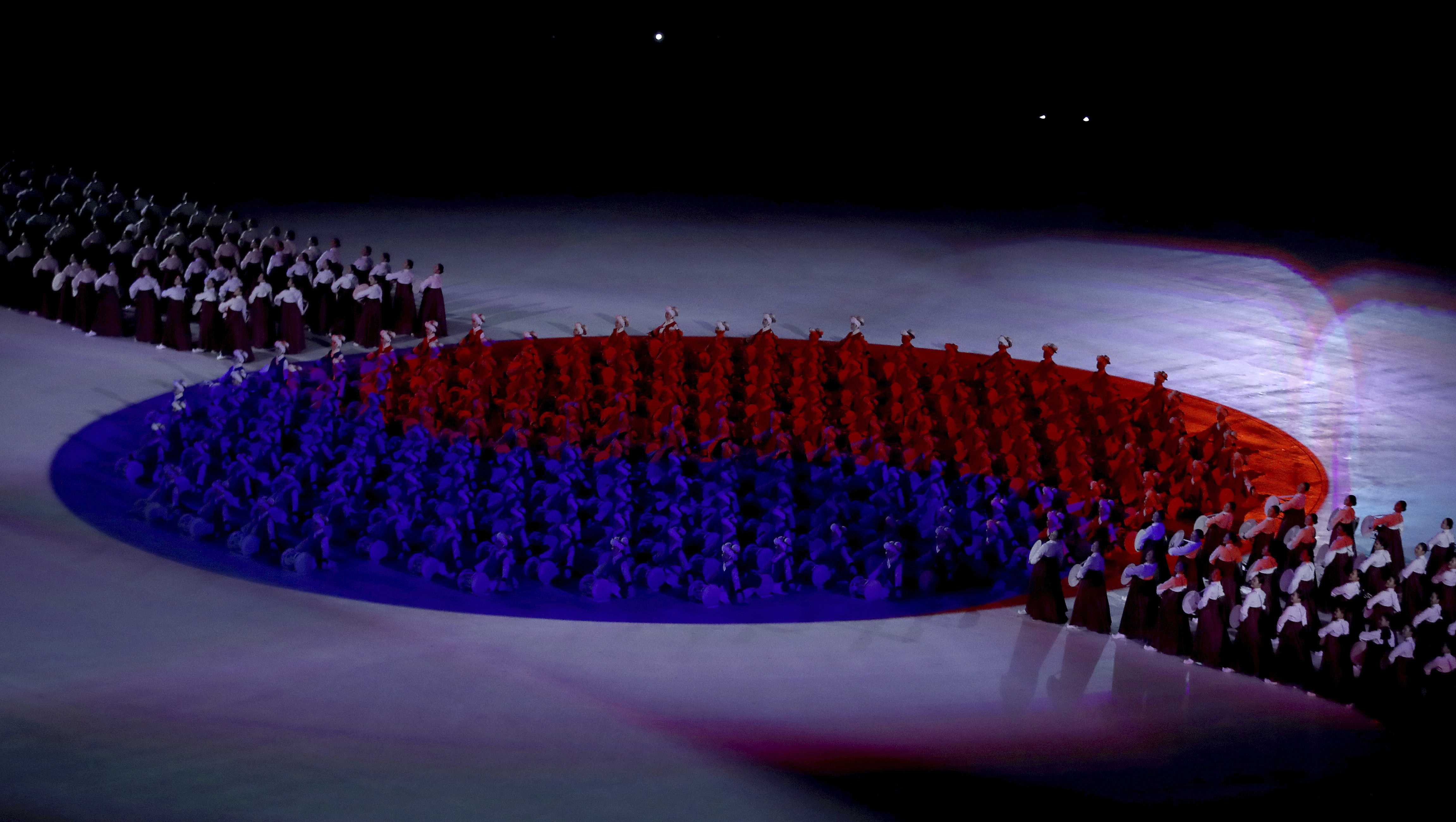 Even on a brutally cold February evening, there were moments aplenty to warm the heart during a Winter Olympics opening ceremony which had peace as its central theme.