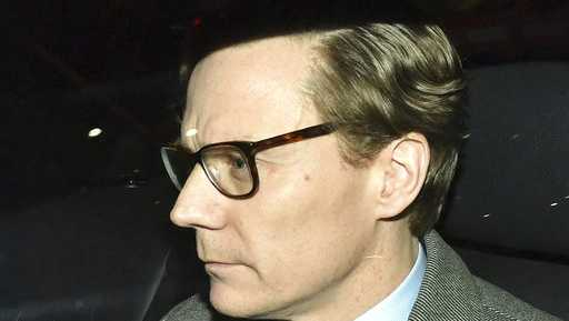 Chief Executive of Cambridge Analytica (CA) Alexander Nix, leaves the offices in central London on Tuesday, March 20, 2018. Cambridge Analytica has been accused of improperly using information from more than 50 million Facebook accounts. It denies wrongdoing.