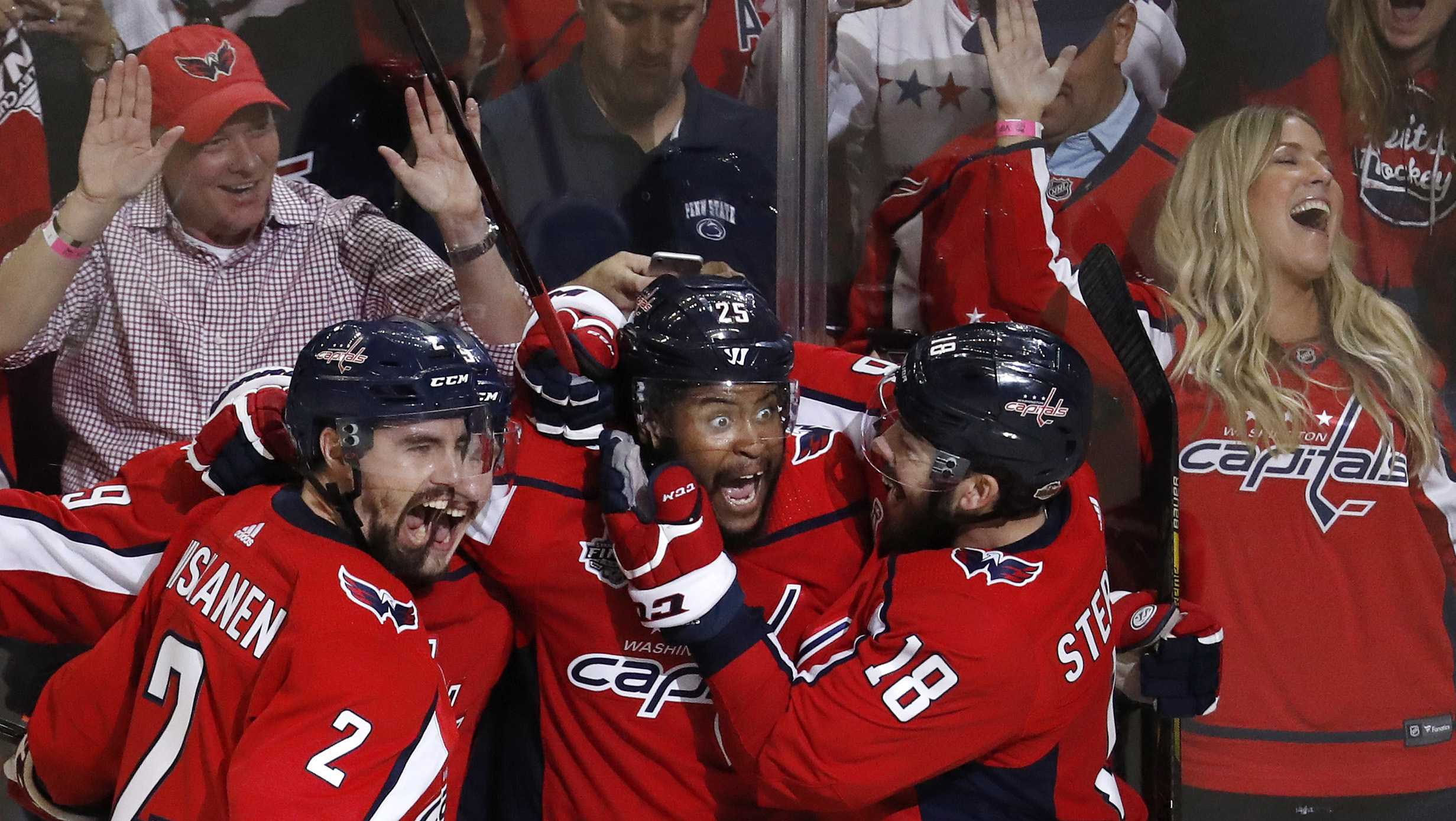 Washington Capitals Vegas Golden Knights Stanley Cup Final Game 3