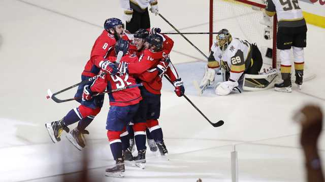 Washington Capitals Vegas Golden Knights Stanley Cup Final Game 4