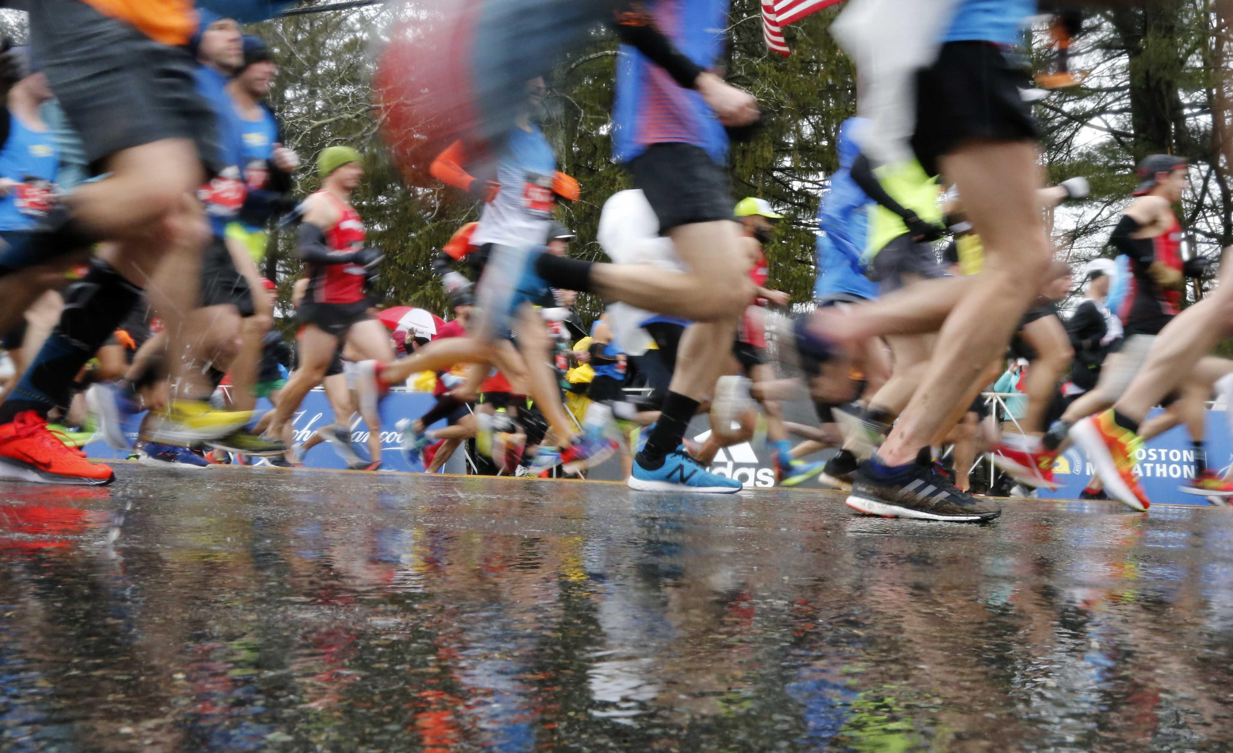 Heavy rain, strong winds for Marathon Monday | WCVB