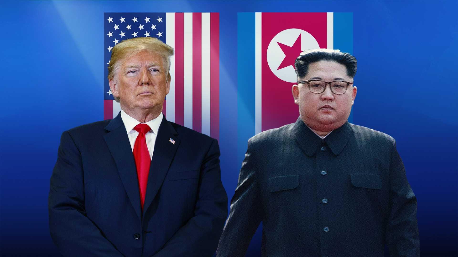Donald Trumpand Kim Jong Un