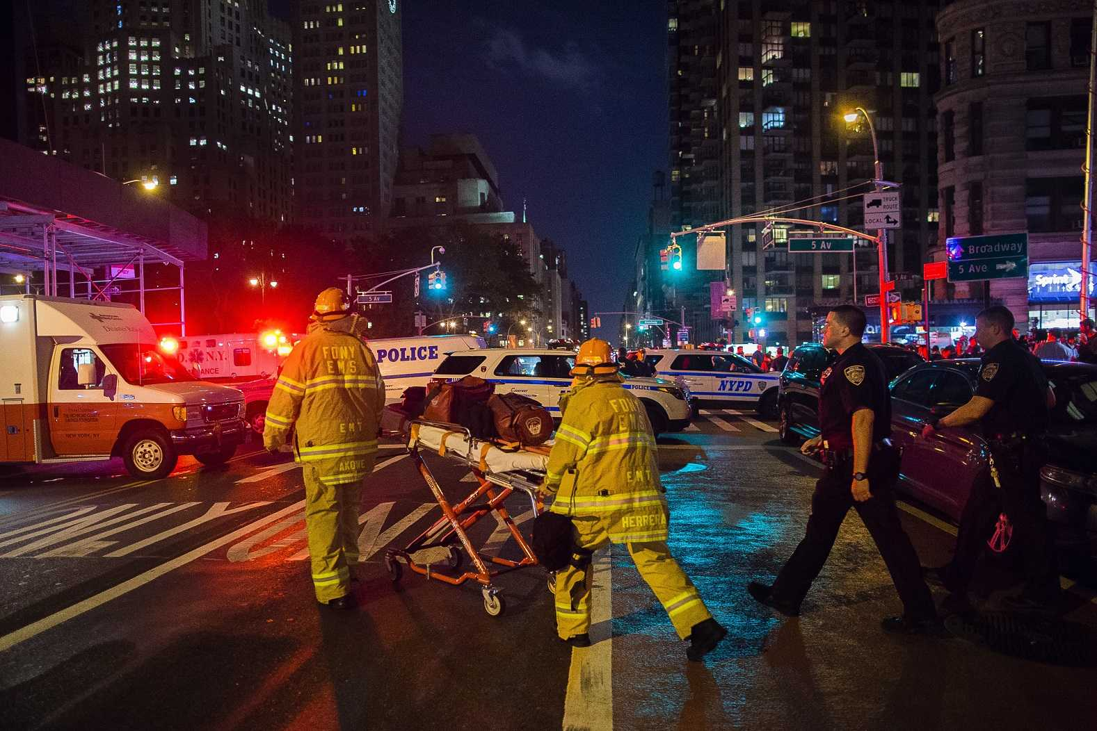 Person of interest to named in NYC bombing