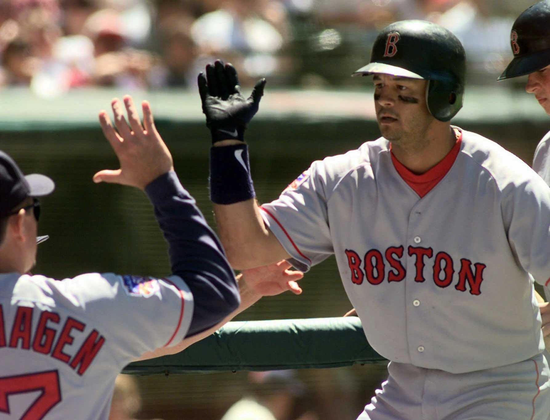 AP Photo/Mark Duncan SOURCE: AP Photo/Mark Duncan. Former Red Sox Infielder John  Valentin ...