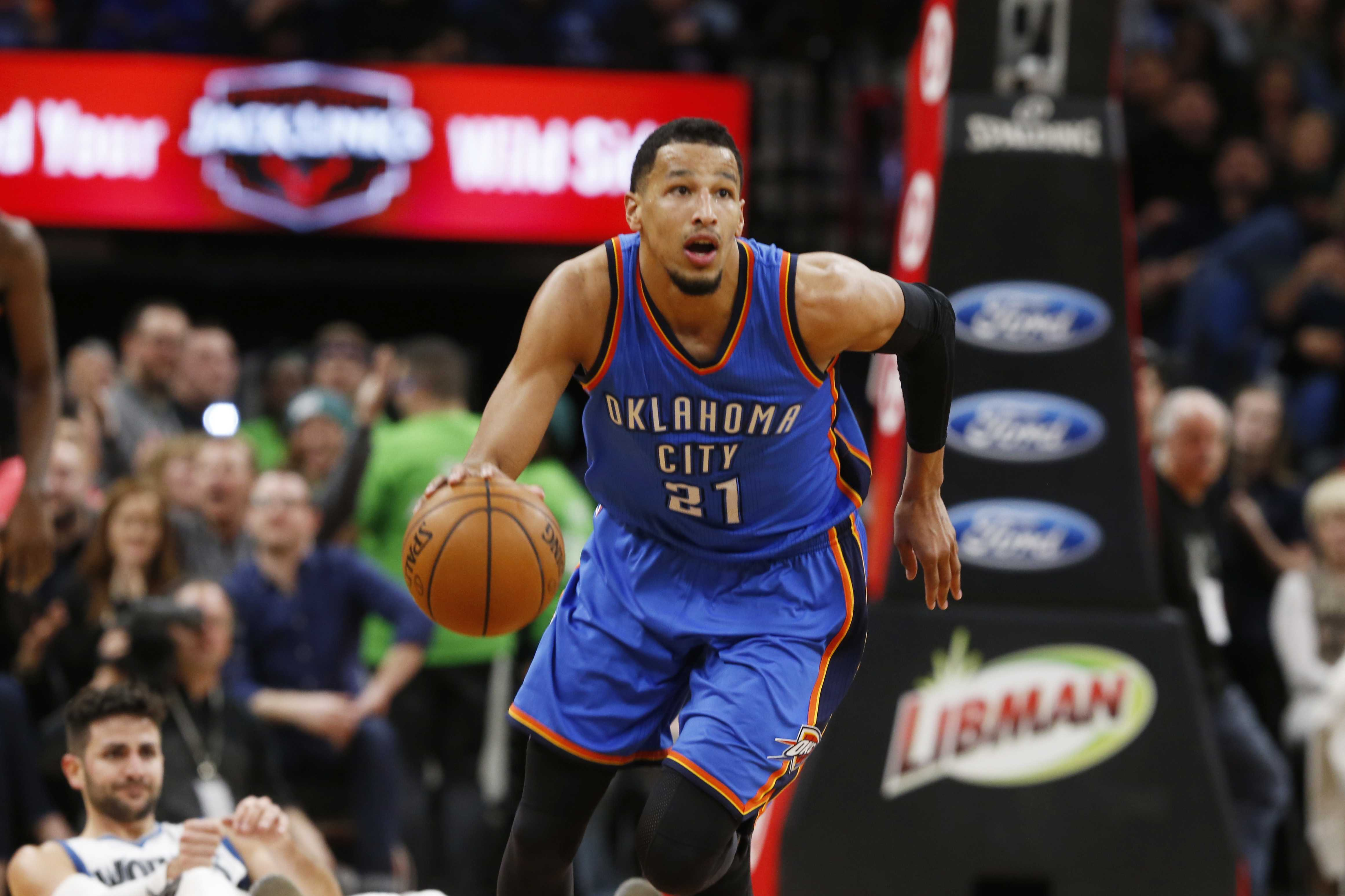 Andre Roberson gets 3-year, $30M deal from OKC — AP Source