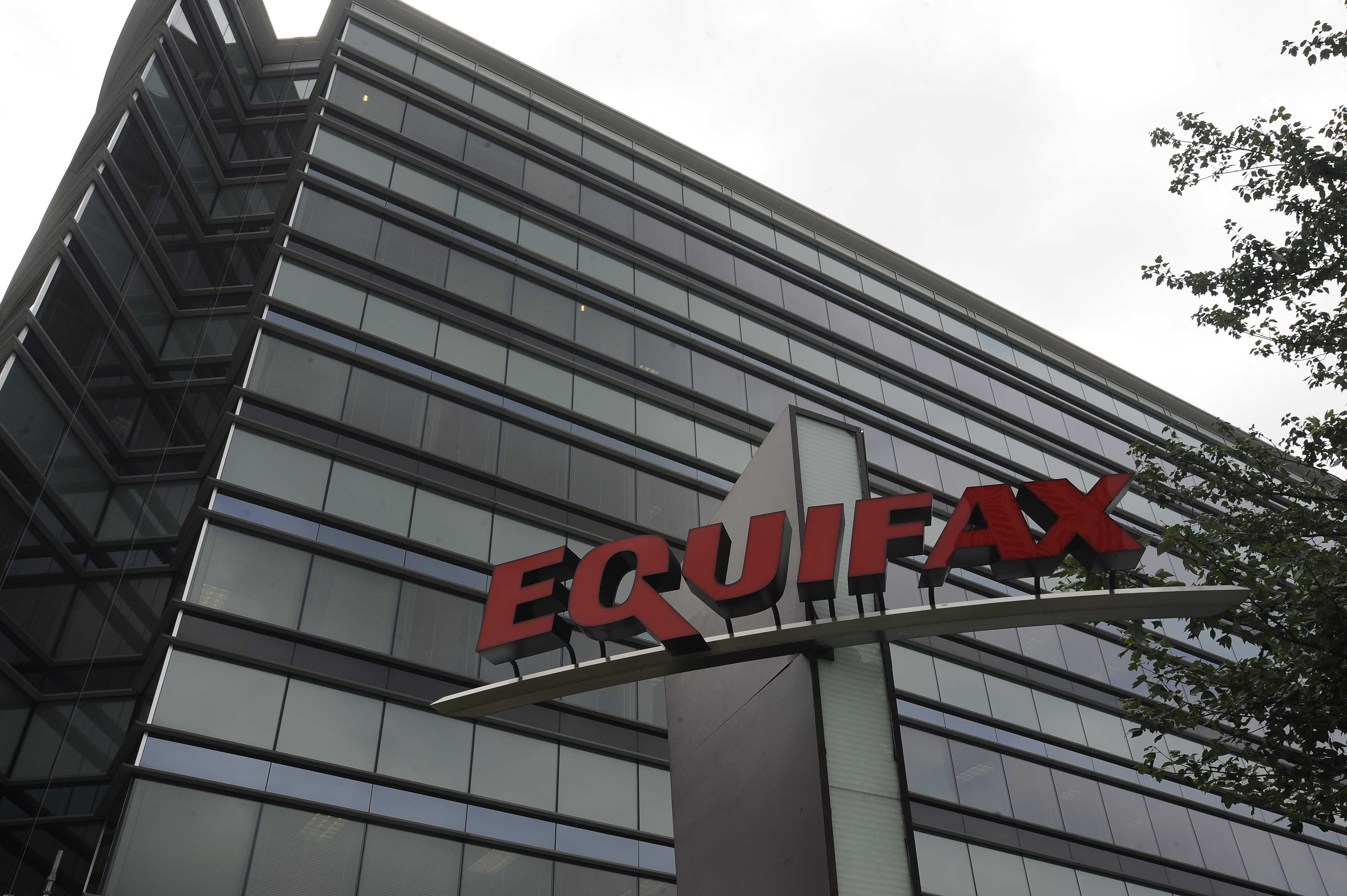 Equifax stock tumbles 14% after credit score hack""